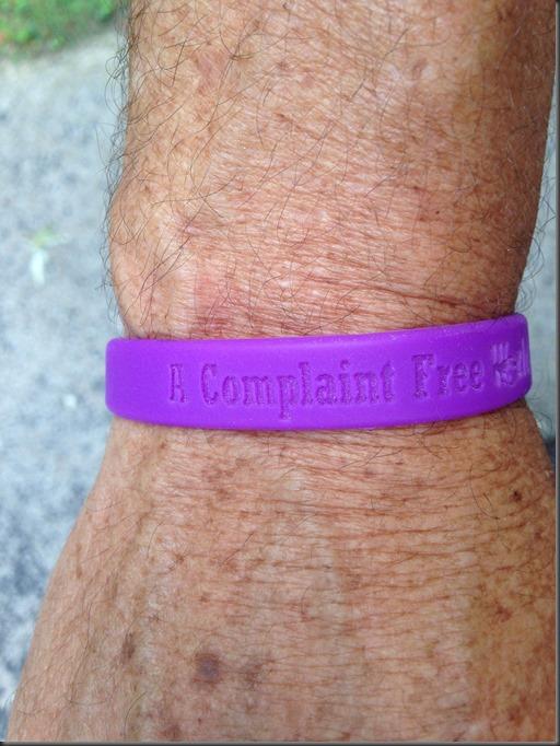complaint free